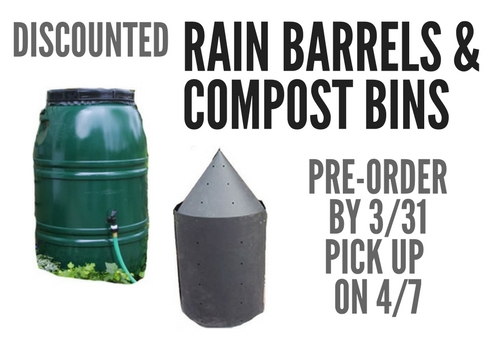 BEFORE 3/31: Order your Discount Compost Bins | Transition
